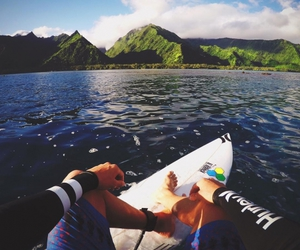 beach, surf, and adventure is out there image