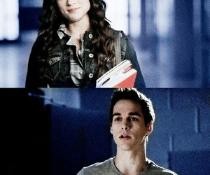 the vampire diaries, teen wolf, and crystal reed image