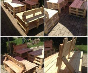 pallet recycled, pallet ideas, and pallet projects image