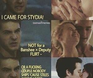 stydia, teen wolf, and stalia image