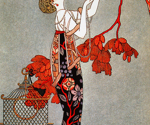 illustration, 1914, and George Barbier image