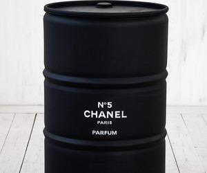 chanel, black, and parfum image