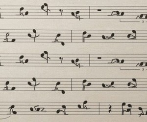 couple, music, and notes image