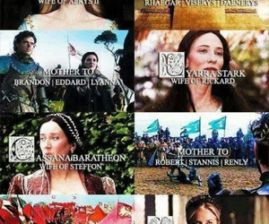 game of thrones, fire and blood, and house stark image
