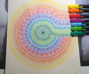 art, colour, and cool image