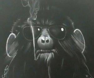 animal, art, and cigarro image