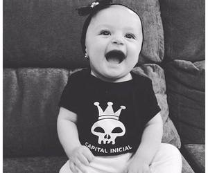 adorable, baby, and music image