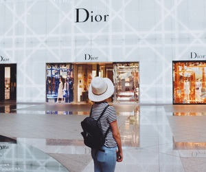 beauty, city, and dior image