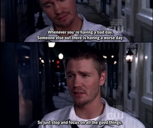 lucas scott, one tree hill, and quote image
