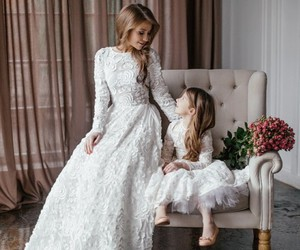 dress, family, and look image