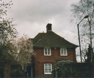 vintage, house, and photography image
