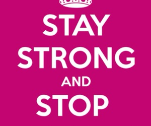 stay strong and bullying image