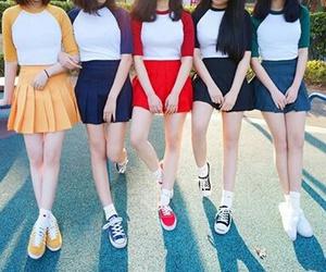 asian fashion, asian models, and asian girls image