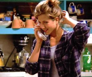 Jennifer Aniston, rachel green, and friends image