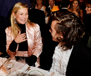 Harry Styles, one direction, and kate moss image