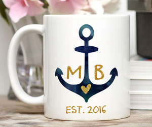 anchor, etsy, and mug image