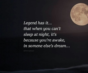dreams, legend, and night image