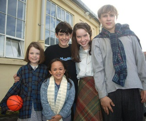 georgie henley, skandar keynes, and william moseley image