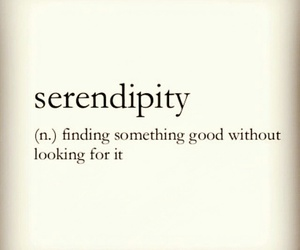 good and serendipity image