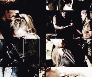 alone, emily kinney, and norman reedus image