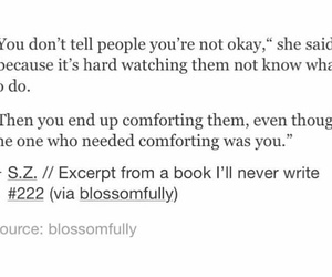 comfort, okay, and quotes image