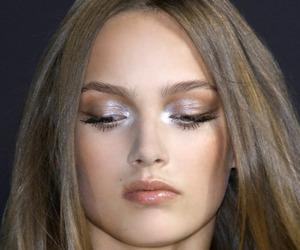 makeup, model, and fashion image
