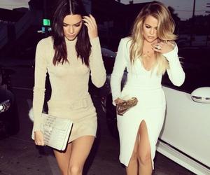 kendall jenner, khloe kardashian, and jenner image
