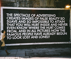 advertising, beauty, and text image