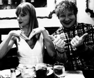 Taylor Swift, ed sheeran, and austin mahone image