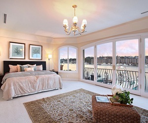 bedroom, luxury, and house image