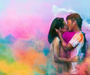 colors and couple image