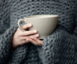 cosy, fashion, and gray image