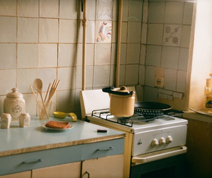adorable, kitchen, and vintage image