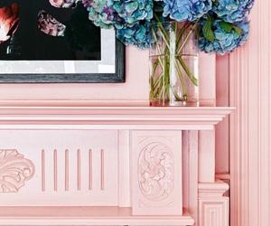 blush, paint, and poinsettias image