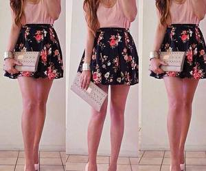 fashion, outfits, and floral dresses image