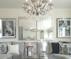 deco, gray, and fancy image