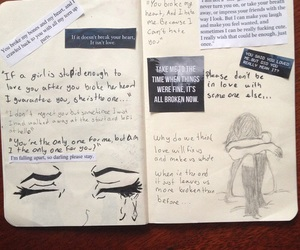 art, journal, and draw image