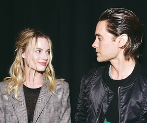 jared leto, margot robbie, and suicide squad image