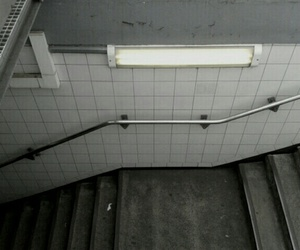 grunge, pale, and stairs image