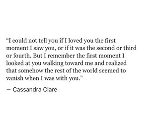 love at first sight and quote image