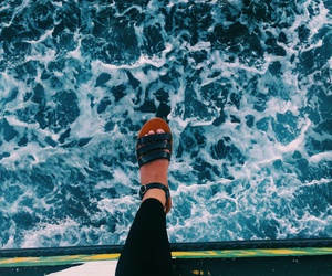 beach, fashion, and Island image
