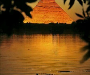 egypt, pyramid, and travel image