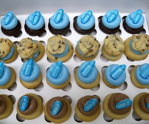 cupcakes, sweet, and baby shower image