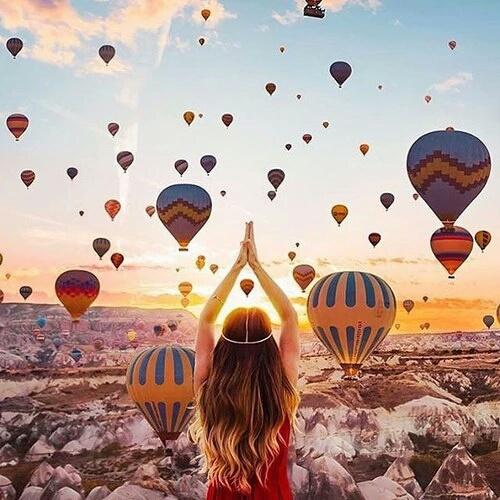 travel, turkey, and sky image