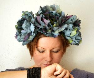 bohemian, flower art, and boho headband image