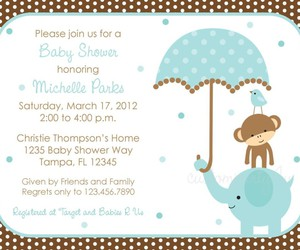 invitations, baby shower, and for boys image