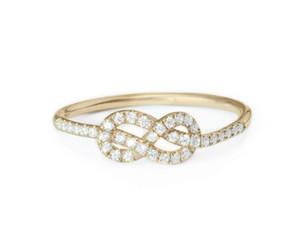 diamond, gold, and infinity image