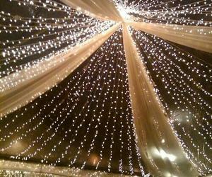 lights, decoration, and wedding image
