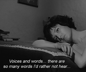 black&white, voices, and words image