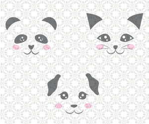 cute animals, etsy art, and cut file clipart image